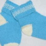 Вяжем детские носочки сами