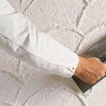 Материалы для влажного выравнивания стен