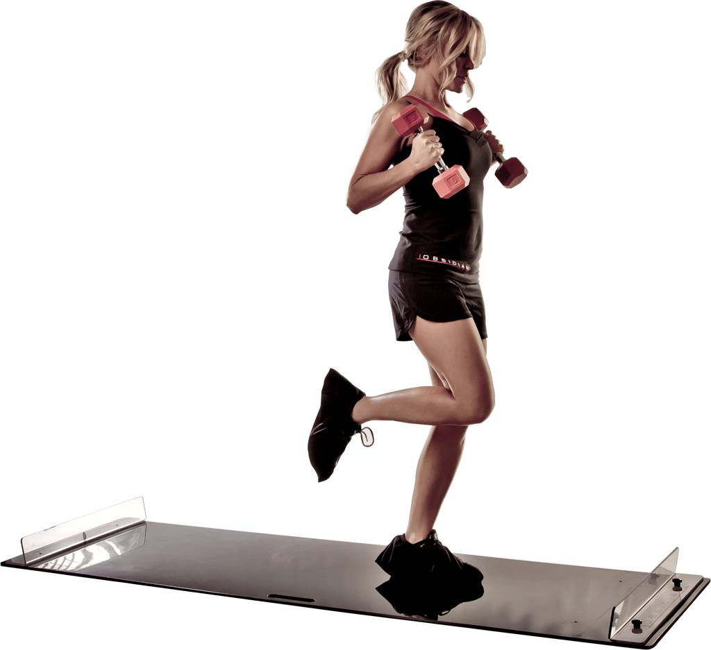 Слайд дорожка для фитнеса своими руками 15