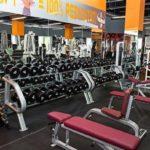 Зона свободной тяжести в тренажерном зале