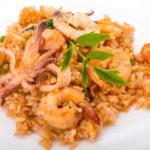 Паэлья с морепродуктами. Кухня Мексики