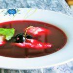 Лечимся едой: Суп сладкий с чёрной смородиной и облепихой.