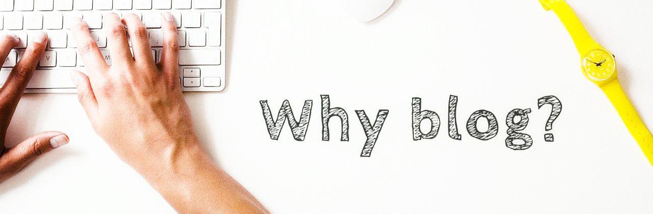 Зачем вести блог.